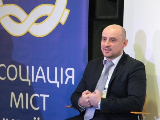 Ужгород відвідав виконавчий директор Асоціації міст України Олександр Слобожан
