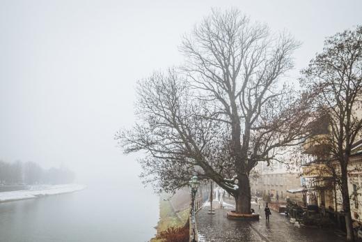 Ужгород у тумані – на світлинах фотографа Сергія Денисенка