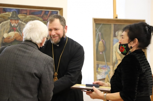 Легендарний закарпатський художник Володимир Микита відзначив 90-річчя ювілейною виставкою