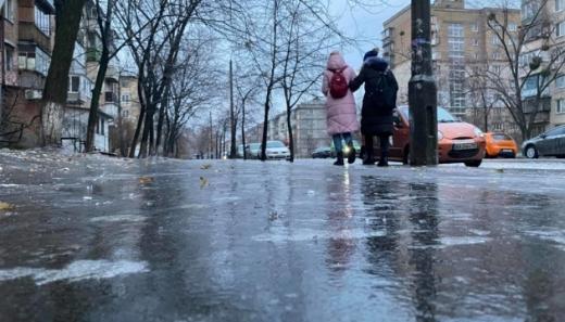 В Україні прогнозують сильну ожеледицю