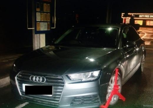Викрадена у Великобританії автівка знайшлася на Закарпатті
