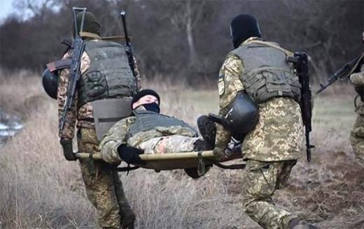 На Донбасі через обстріл бойовиків поранений український військовий