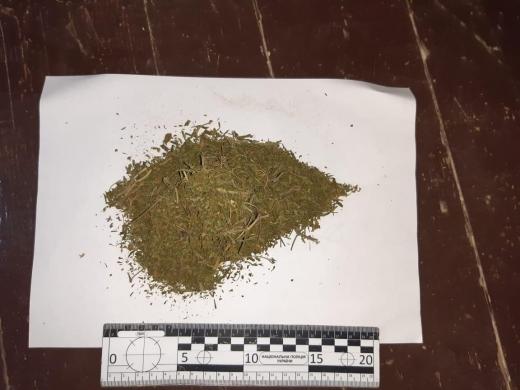 У 31-річного мешканця Іршави поліцейські під час обшуку вилучили наркотики (ФОТО)