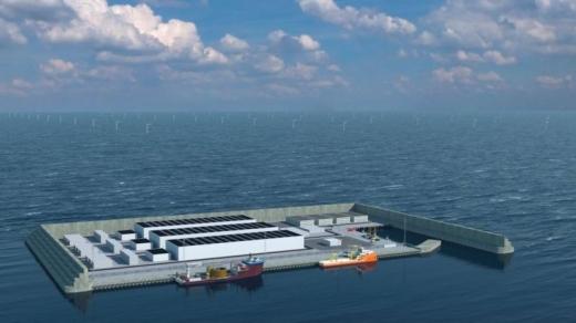 У Данії збудують перший штучний енергетичний острів