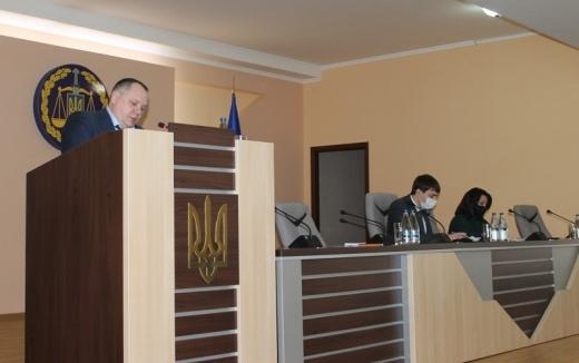 На оперативній нараді в Закарпатській обласній прокуратурі обговорили результати роботи за 2020 рік