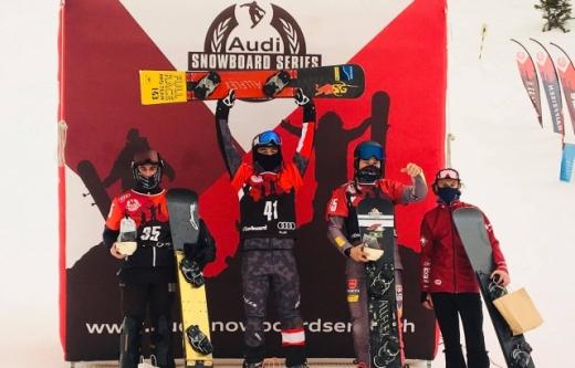 Спортсменка із Закарпаття виборола перемогу на Кубку Європи зі сноуборду