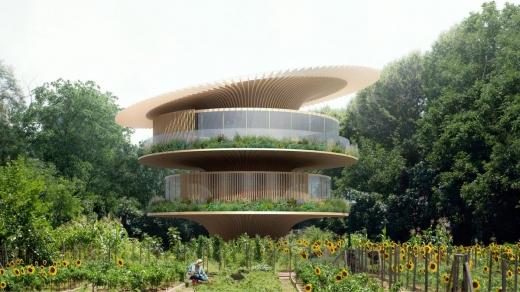 В Італії побудують будинки з дахами, які обертаються за сонцем
