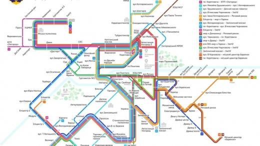 В Ужгороді розробили схему руху міських маршруток