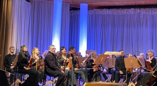 До Дня закоханих в Ужгороді відбувся концерт симфонічного оркестру