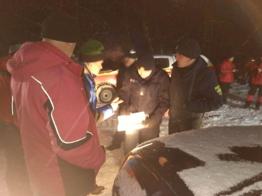 Рятувальники продовжують шукати киянина, який заблукав в районі г. Гимба