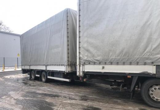 """У ПП """"Тиса"""" у закарпатця виявили підроблені документи на причіп до вантажівки"""