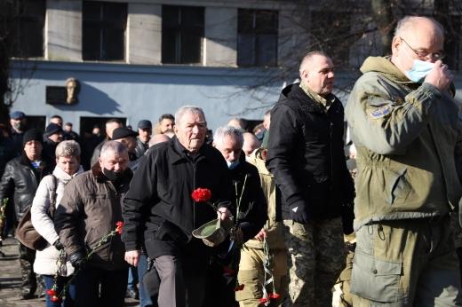 Учасників бойових дій на території інших держав вшанували в Ужгороді