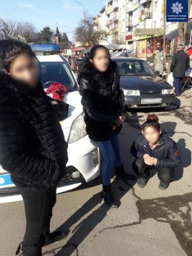 В Ужгороді небайдужі громадяни допомогли патрульним затримати ймовірних крадійок
