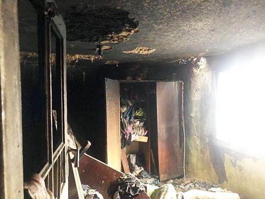 У Солотвині під час пожежі рятували жінку