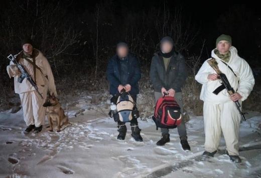 На Закарпатті затримали двох 18-річних юнаків, які намагались нелегально потрапити до ЄС