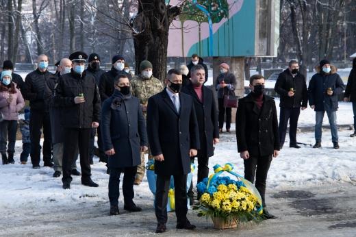 Пам'ять Героїв Небесної Сотні вшанували в Ужгороді (ФОТО)