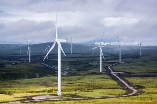 В Ірландії вітрові станції забезпечили понад 36% споживання електроенергії