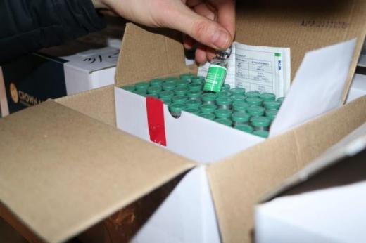 Перший вантаж вакцини від коронавірусу прибув на Закарпаття