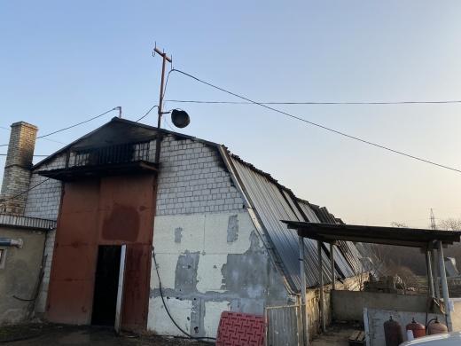 На Закарпатті горів свинокомплекс: загинуло понад 150 тварин