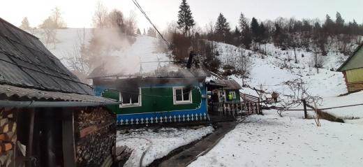 На Рахівщині у пожежі загинув 70-річний чоловік