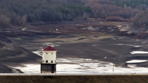 У Криму пересохли два водосховища, ще одне – на межі висихання