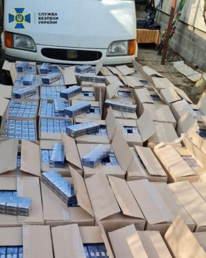 На Закарпатті СБУ  зупинила нелегальний транспорт цигарок на 2,5 мільйони