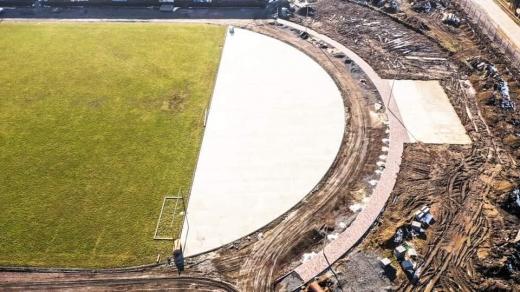 На Закарпатті будують сучасний об'єкт спортивної інфраструктури