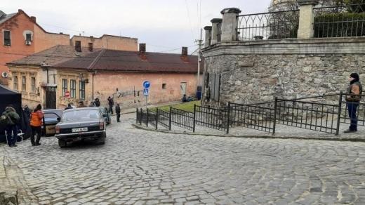 На вулиці Ужгорода два дні зніматимуть фільм (ФОТО)