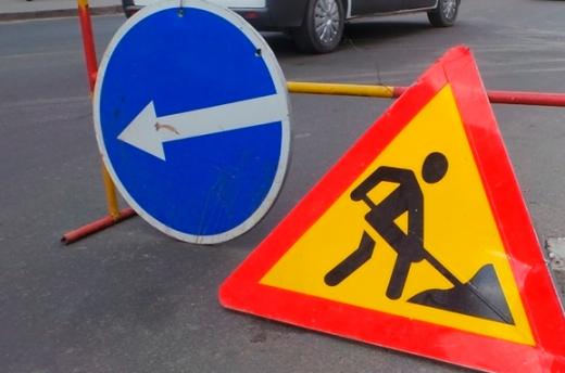До уваги водіїв: на одній з вулиць Ужгорода ремонтні роботи