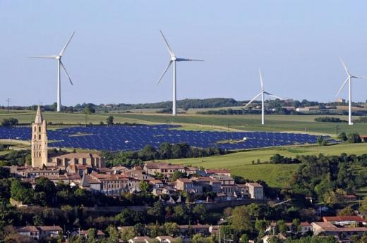 У Франції частка «зеленої» електроенергії збільшилась до 27%