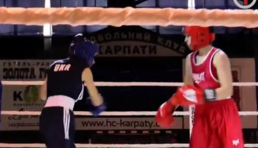 В Ужгороді змагаються юні боксерки