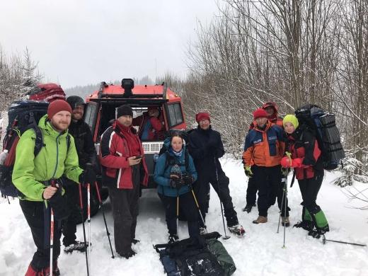 Закарпатські рятувальники відшукали в горах групу з п'яти туристів
