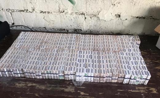 Закарпатські прикордонники зупинили контрабанду цигарок