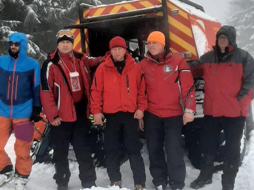 Протягом вихідних у горах рятували двох туристів