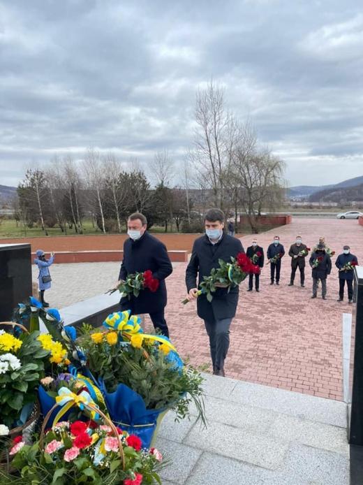 На Красному полі вшанували подвиг січовиків Карпатської України