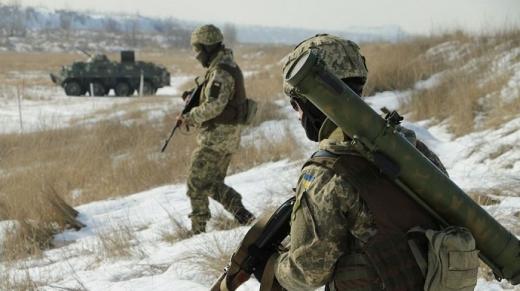 Російські найманці 10 разів обстріляли українські позиції