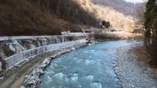 Трасу державного значення ремонтують на території Карпатського біосферного заповідника