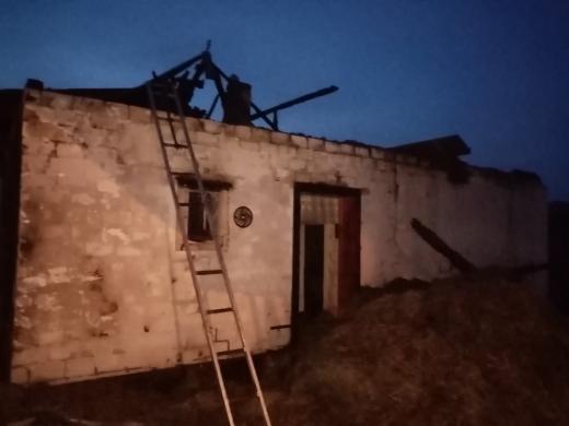 На Хустщині внаслідок пожежі згоріло близько 5 тонн сіна