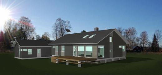 У Фінляндії будують приватні будинки на енергії вітру, сонця і землі