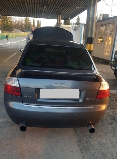 """У пункті пропуску """"Ужгород"""" виявили вкрадену у Чехії автівку"""