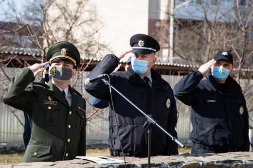 Урочистості з нагоди річниці створення Нацгвардії відбулися в Ужгороді
