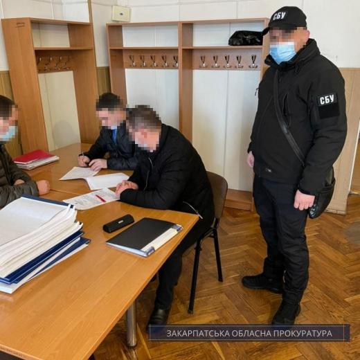 На Закарпатті начальника однієї зі станцій філії «Укрзалізниці» підозрюють у протиправній діяльності