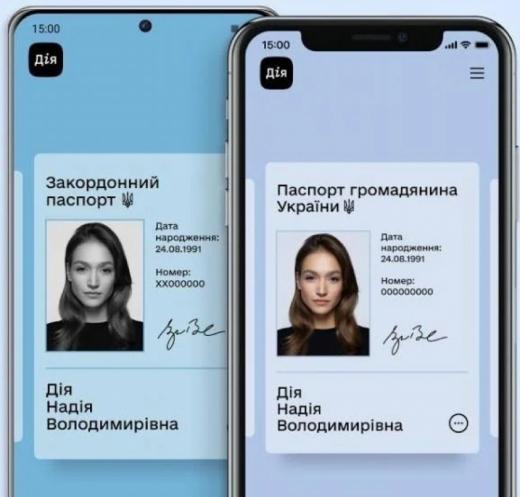 Рада прирівняла електронні паспорти до звичайних: у світі це вперше