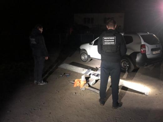 На кордоні зі Словаччиною прикордонники виявили саморобний безпілотний літальний апарат (ВІДЕО)