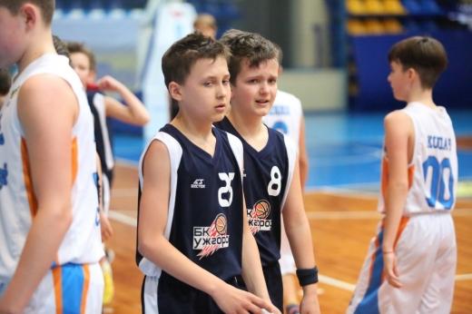 Юні ужгородські баскетболісти – бронзові призери ВБЮЛ
