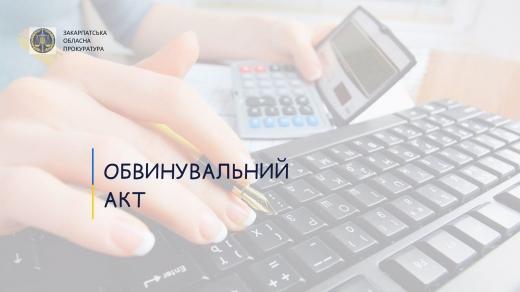 Незаконні фінансові операції: в Ужгороді судитимуть бухгалтера держпідприємства