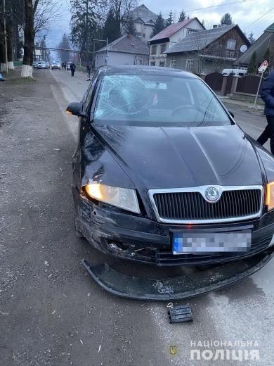 На Тячівщині 21-річного водія затримали через смертельний наїзд на велосипедиста