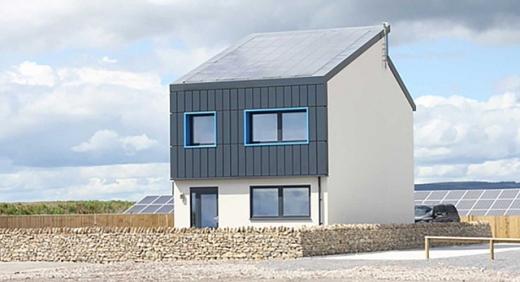 Британці розробили будинок, який виробляє у два рази більше енергії ніж споживає