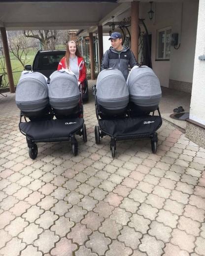 Батьки четвірні, яка взимку народилась на Закарпатті, показали нові фото малюків
