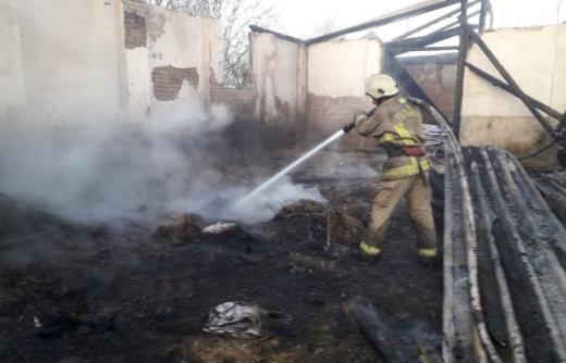 ДСНС чотири  години тушили пожежу у Виноградові